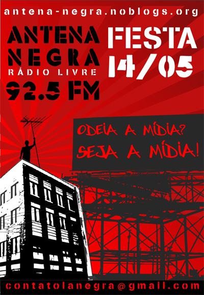 Festa Antena Negra//Rádio Livre