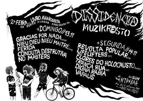 2ª Feira do Livro Anarquista e Festival