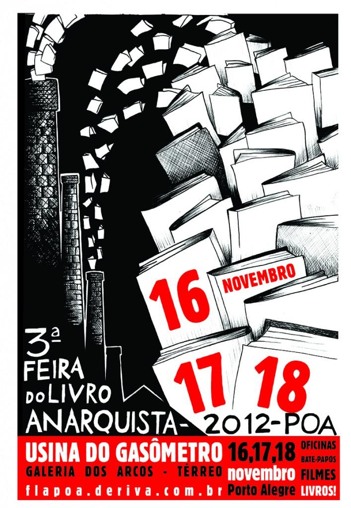3ª Feira do Livro Anarquista de Porto Alegre