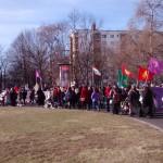 Dia Internacional da Mulher - Relato sobre as demos de Potsdam e Berlim