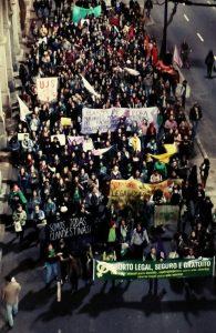 Registro do Ato pela descriminalização/legalização do aborto - POA