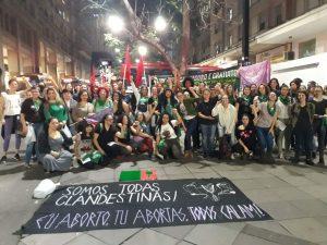 Registro do 2º Ato Nossa Hora de Legalizar o Aborto - POA