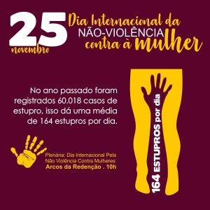 Dia Internacional da Não Violência Contra à Mulher - [Sobre a Violência Sexual]