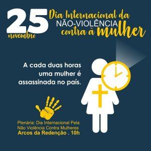 Dia Internacional da Não Violência Contra à Mulher - [ Sobre o Feminicídio]