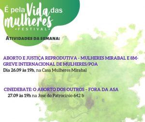 Jornada pelo 28 Setembro - Dia Latino Americano e Caribenho Pela Descriminalização do Aborto