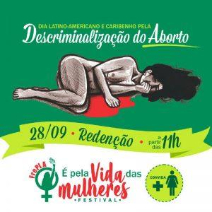 Festival É Pela Vida das Mulheres! 28.09// Amanhã!