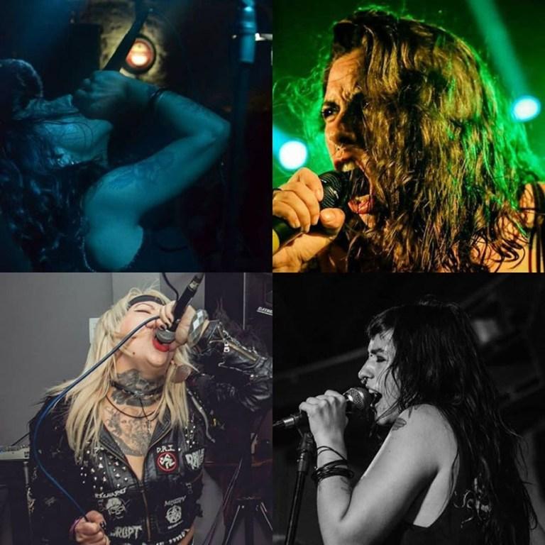 4 bandas com vocalistas mulheres lançam o split Inflamar