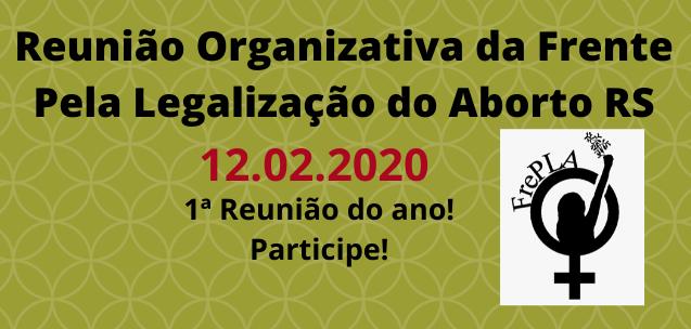 Reunião Organizativa da FrePLA - 12Fev