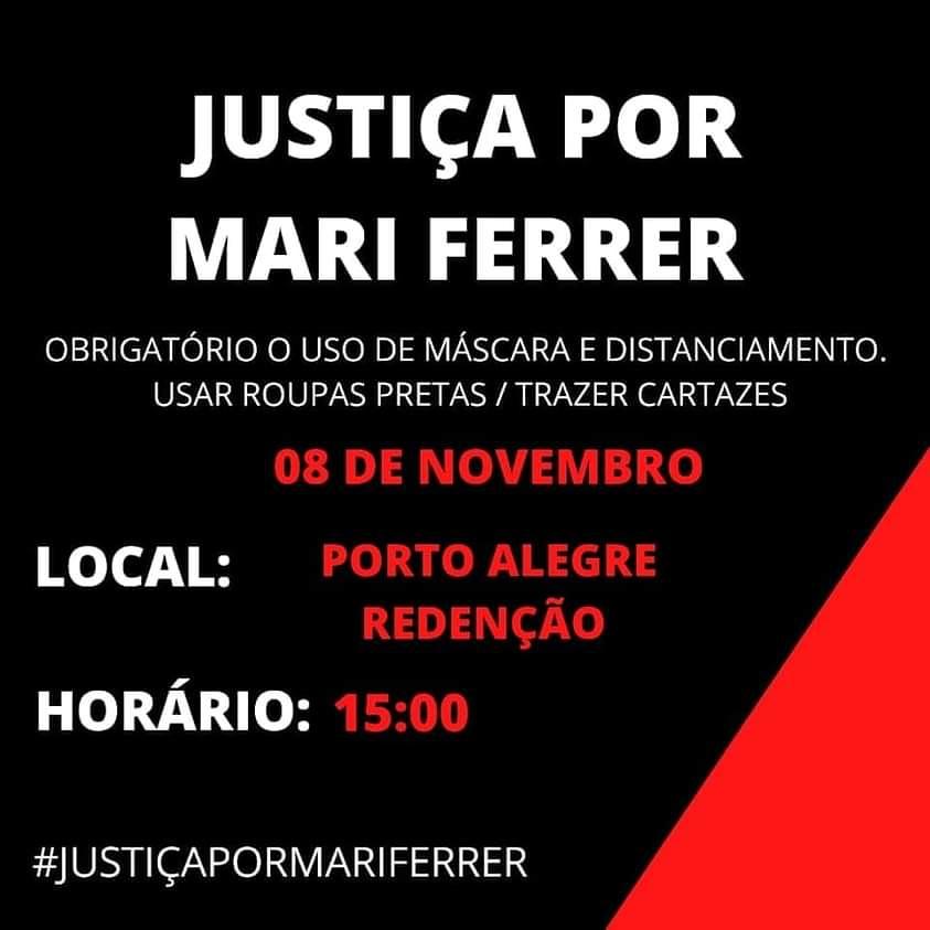 Ato Nacional Justiça por Mari Ferrer