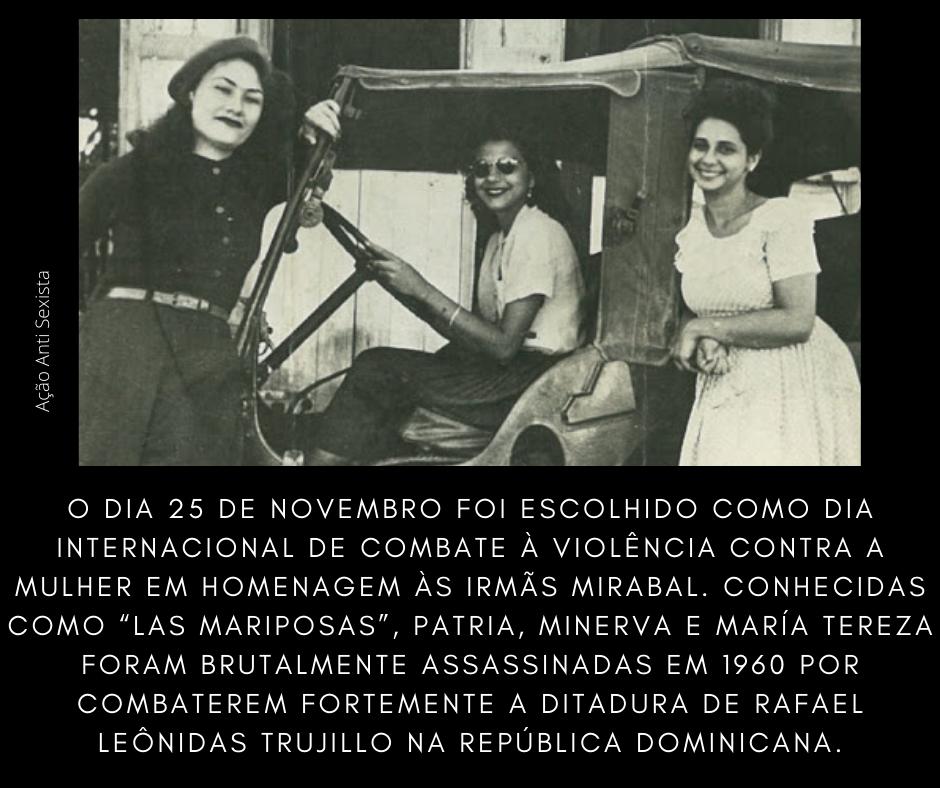 Pelo Fim da Violência Contra as Mulheres - 25 de Novembro